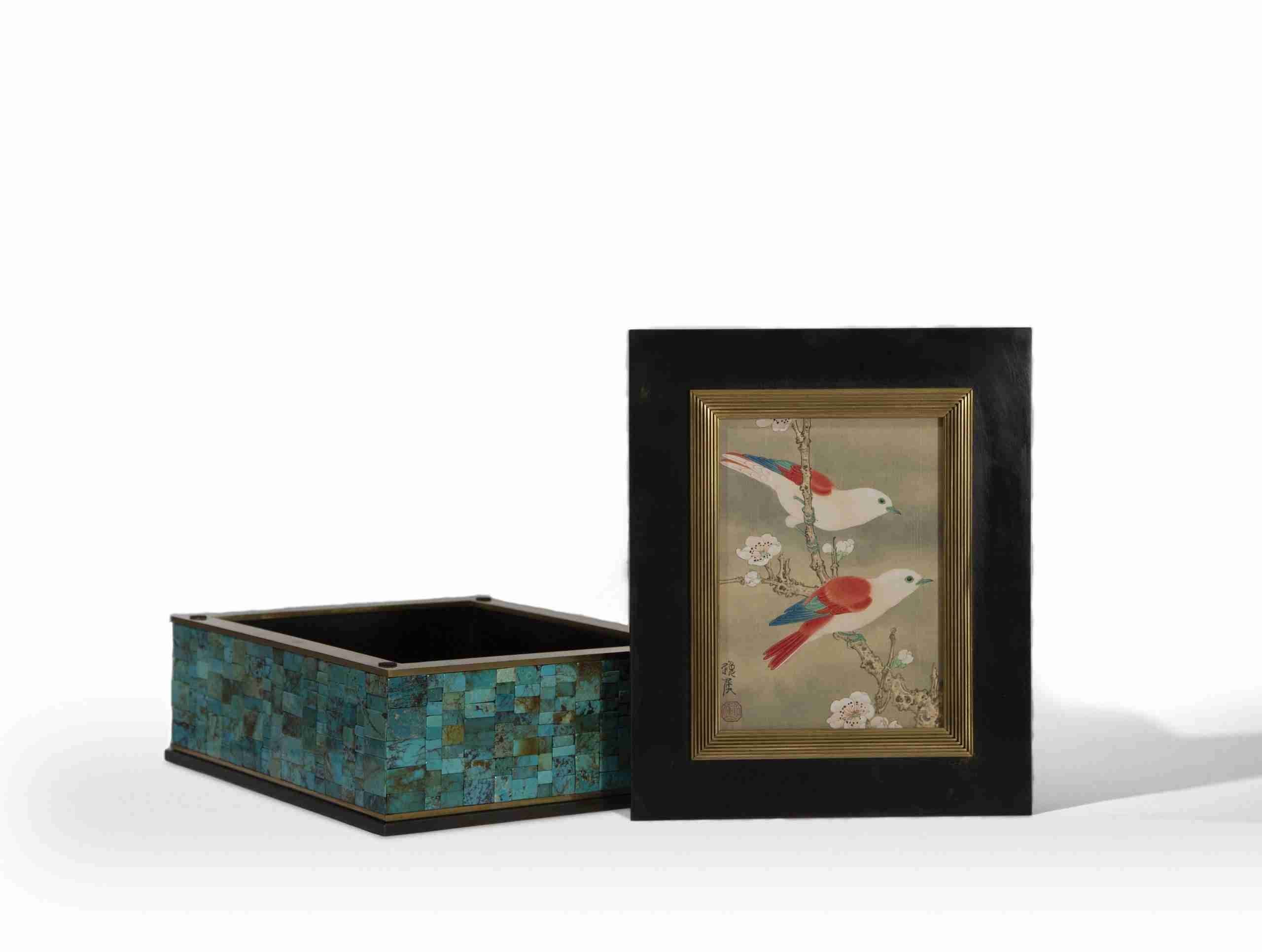 Ren Zhong Studio - The Turquoise Box - Birds in Paradise, 2020