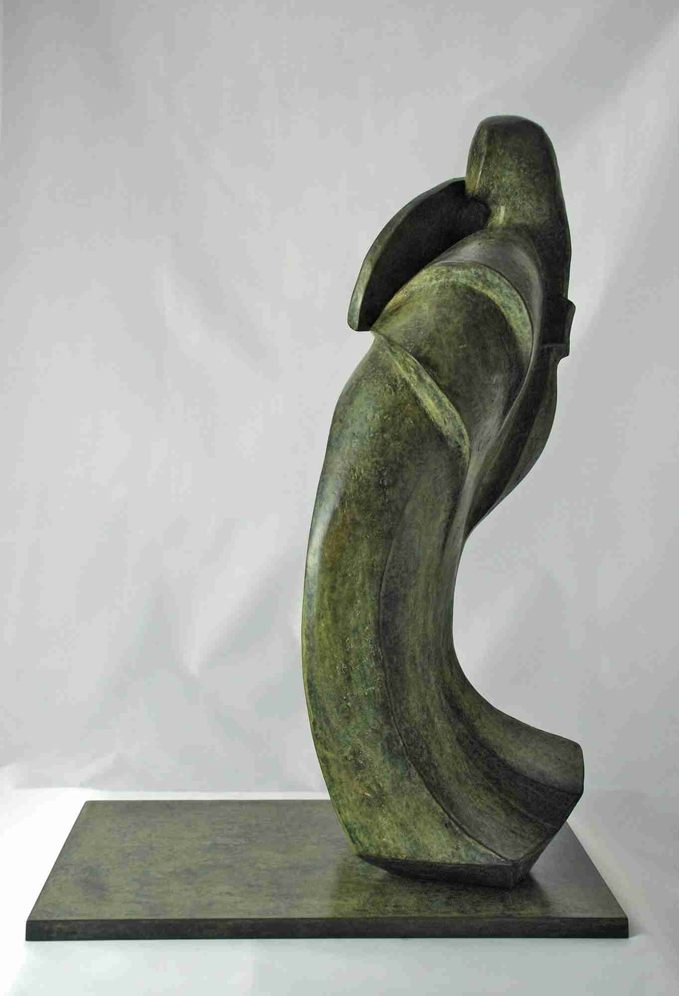 42 x 17 x 15 cm Bronze. Limited edition, 12 numbered copies.
