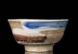 1. Hamada Salt glazed tea bowl for LACA